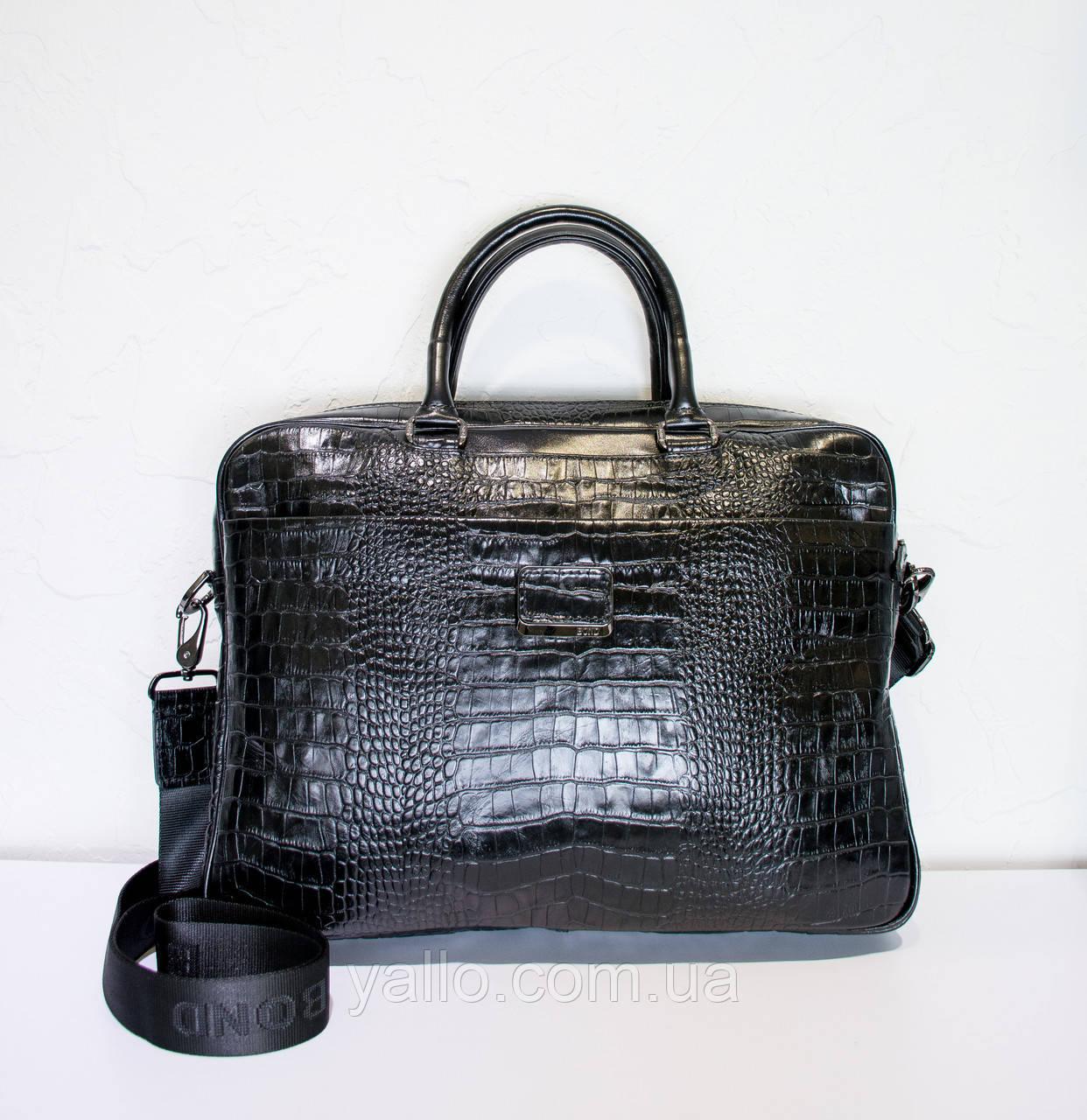 Мужская кожаная сумка BOND 1095-256