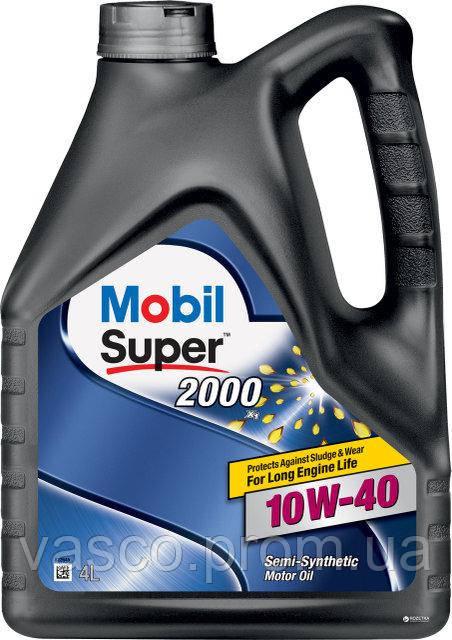 10w40 SUPER 2000 X1 EU кан.4л Mobil олива моторна