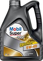 Моторное масло 5w40 SUPER 3000 X1 EU Mobil 4л