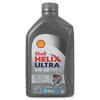Синтетическое моторное масло 5W30 Shell ULTRA HELIX ECT C3 1 л