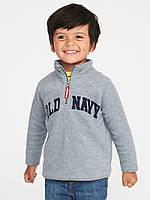 """Кофта флисовая для мальчика Old Navy серая """"Лого"""" р.2Т,3Т,4Т"""
