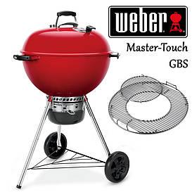 Гриль угольный Weber Master-Touch GBS 57 см, красный