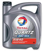 5w40 TOTAL QUARTZ INEO MC3 5л