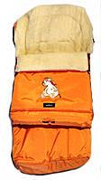 Многофункциональный детский конверт Multi Arctic на овчине  № 20 excluzive оранж WOMAR