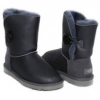 Угги UGG Australia Bailey Button Classic Metallic Grey