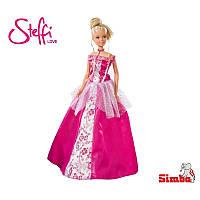 Кукла Steffi в розовом бальном платье Simba