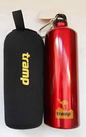 Бутылка алюминиевая в чехле из неопрена TRC-032 Tramp