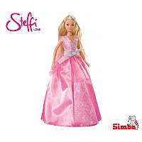 Кукла Steffi в светло - розовом бальном платье Simba 5733763