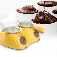 Набор для фондю с двумя чашами Chocolatiere