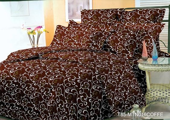 """Двуспальный комплект постельного белья 180*220 из полиэстера """"Шоколадный завиток"""""""