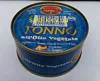 Тунец в оливковом масле tonno all'olio vegetale