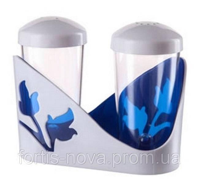 """Набор для специй ''Viola""""синий полупрозрачный"""
