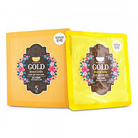 Гидрогелевая маска для лица с золотом KOELF Gold & Royal Jelly Mask, 5шт
