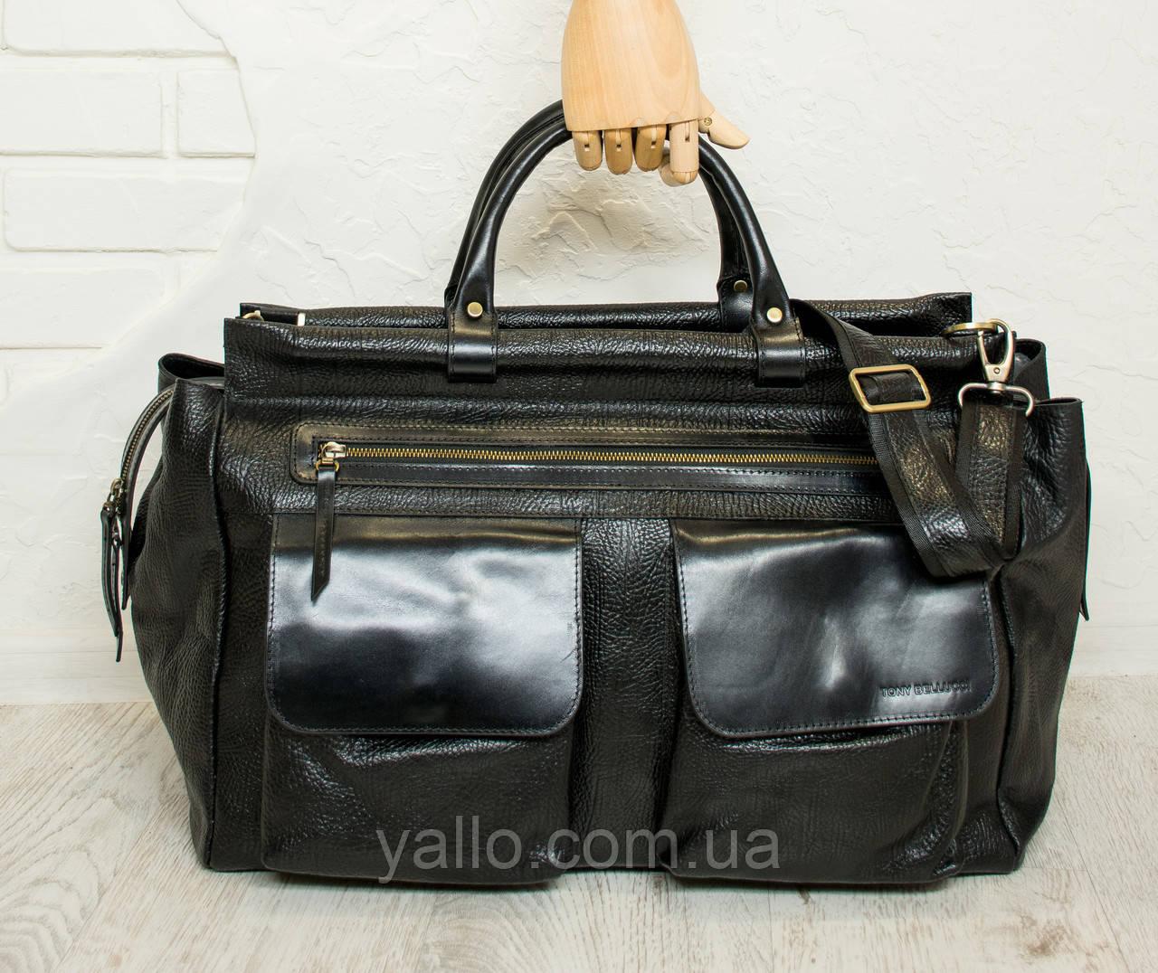 Дорожная сумка из натуральной кожи Tony Bellucci T5012-893
