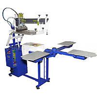 Шелкотрафаретный станок полуавтоматический  для печати по ткани SCHULZE HAT 5080/4/1