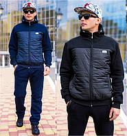 Тёплый мужской спортивный костюм №44 (р.46-56)