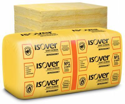 Утеплитель Isover звукозащита 75х610х1170 мм (11.42 кв.м в уп)
