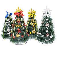 Елка новогодняя искусственная украшенная