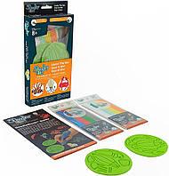 Набор аксессуаров для 3D-ручки 3Doodler Start - ВОДНЫЙ МИР (48 стержней, 2 шаблона) (3DS-DBK-SE-COM)