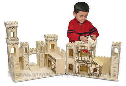 Деревянный рыцарский замок  Melissa&Doug, фото 2