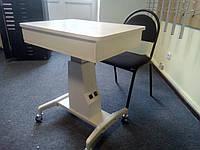 Стол приборный офтальмологический WZ-3DT (с шухлядой под линзы)