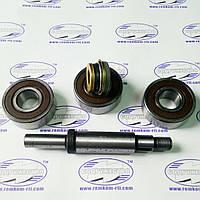 Ремкомплект водяного насоса (помпа) (3 подшипника+фибра 16мм), Д-260, МТЗ-1221