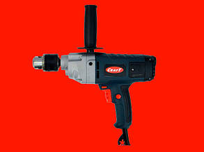Малооборотистая дрель на 1600 Ватт Craft CPDM 16/1600