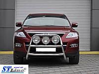 Кенгурятник Mazda CX-7 2006-2012 (WT018 нерж)