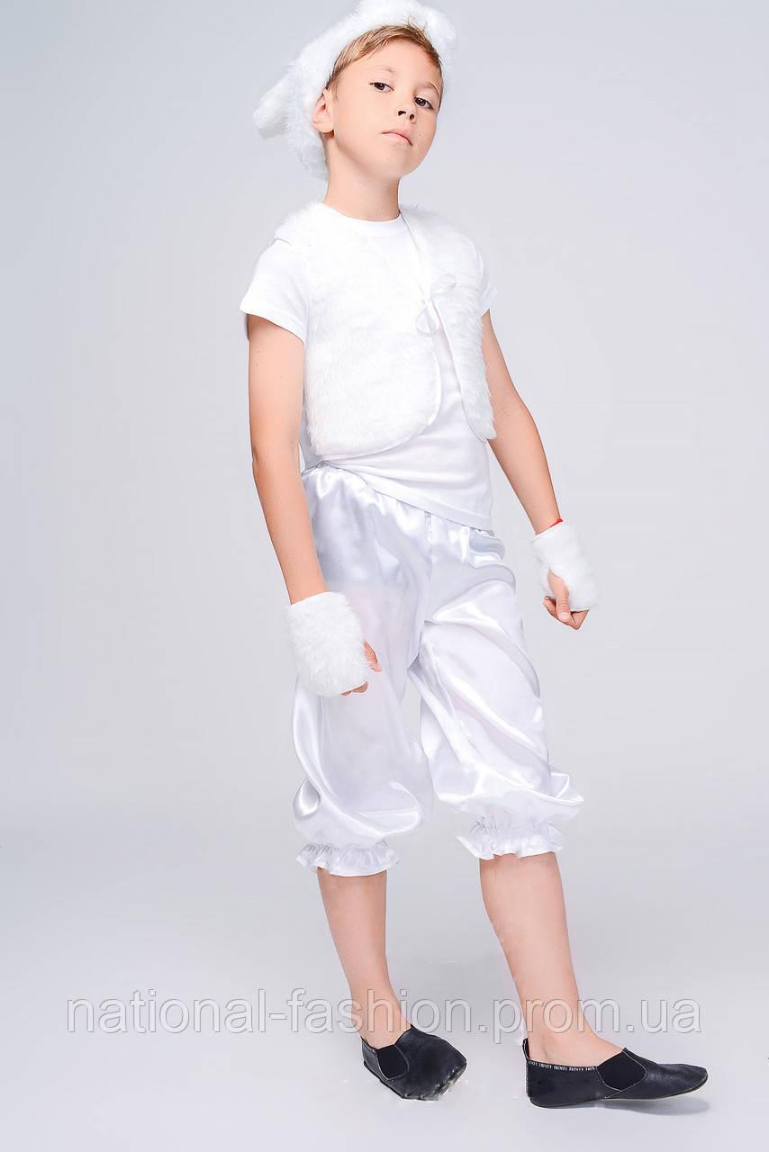 Детский карнавальный костюм для мальчика «Зайчик» №1 (3-6 лет)