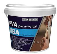 Клей ПВА Donat (1кг/2кг/3кг/5кг/10кг/50кг) От упаковки