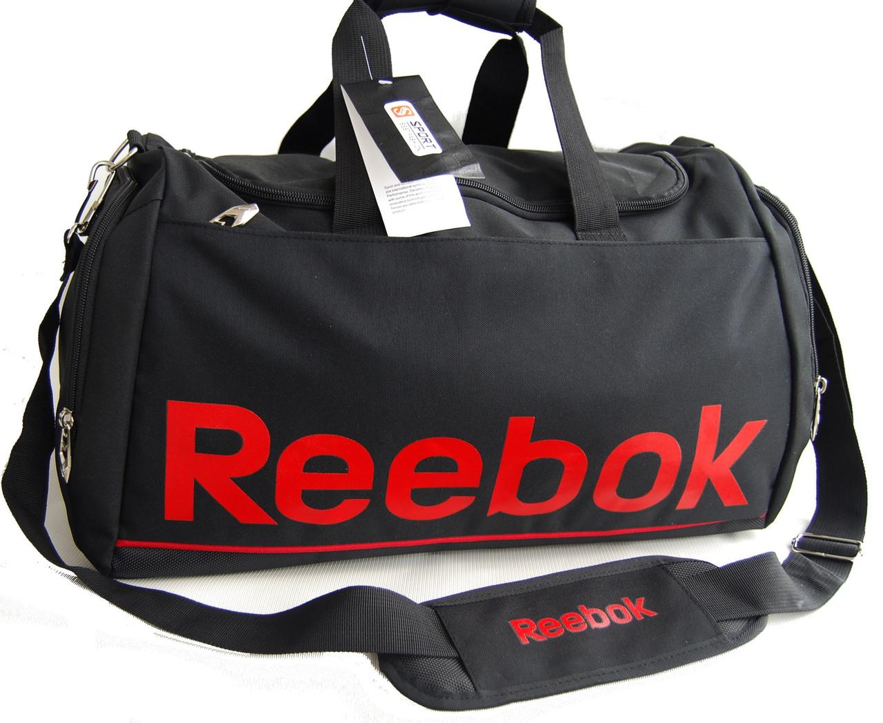 9ae2efd3a066 Спортивная, дорожная качественная сумка Reebok с отделом для обуви КСС59-2  - интернет-