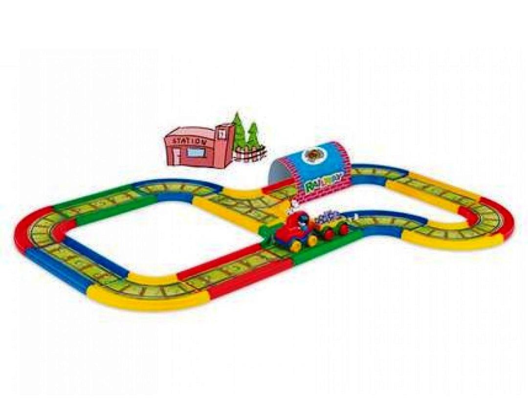 Железная дорога Kid Cars 3.1 м Wader 51701