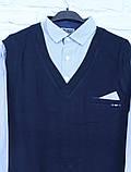 Обманка (сорочка з жилеткою) 10-14 років, фото 3