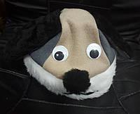 Карнавальная новогодняя маска шапка Собачка