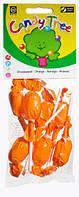 Органические леденцы на палочке, апельсин, Candy Tree, 7*10 гр