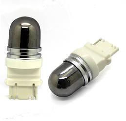 Светодиодная автолампа 3156 - P27W -T25 5PCS CREE XPE Amber Invisible  25W led lamp