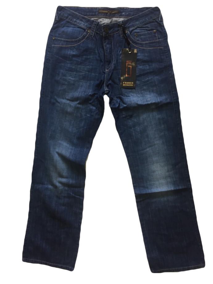 Мужские джинсы Franco Benussi больших размеров 1013 синие