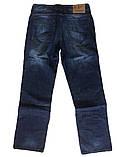 Мужские джинсы Franco Benussi больших размеров 1013 синие, фото 2