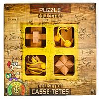 EXPERT Puzzles Collection | Набор деревянных головоломок для опытных, фото 1
