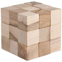 Змеекуб | Деревянный кубик головоломка