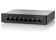 Коммутатор Cisco SB SF100D-08P 8x FE PoE NG Desktop Unmanaged Switch with QoS (SF100D-08P)