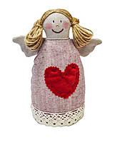 Интерьерная кукла девочка ангел