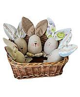 Интерьерная игрушка ручной работы Пасхальный заяц