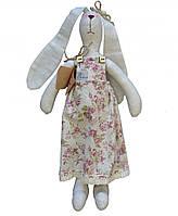 Интерьерная игрушка зайка в платье Rosettes