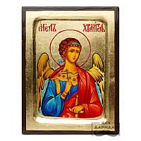 Икона писаная на золоте Ангел хранитель