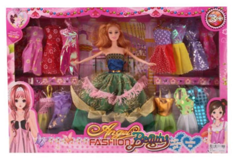 Набор кукла с аксессуарами.Набор кукла с аксессуарами одежды.Девочка кукла.