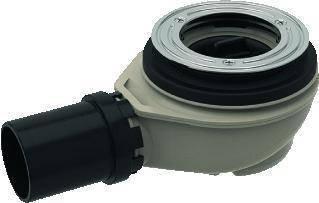 Сифон для душевого поддона d90, Geberit высота гидрозатвора 50 мм, d50 мм PE-HD (150.550.00.1), фото 2