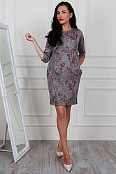 Платье женское из ангоры с люрексом