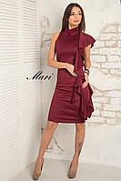 Вечернее платье с рюшами.  Разные цвета.
