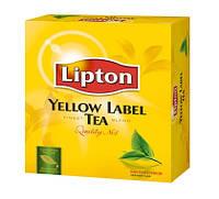 Чай чорний в пакетах Lipton, 100пакетов, фото 1